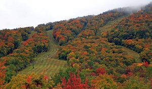 Fall foliage at Stowe Mountain Resort