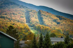 Smugglers' Notch fall foliage