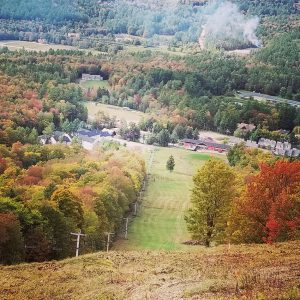 Magic Mountain Vermont fall foliage
