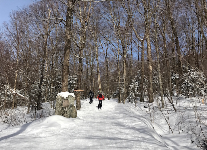 Bolton Valley's Bryant Trail to Bryant Camp