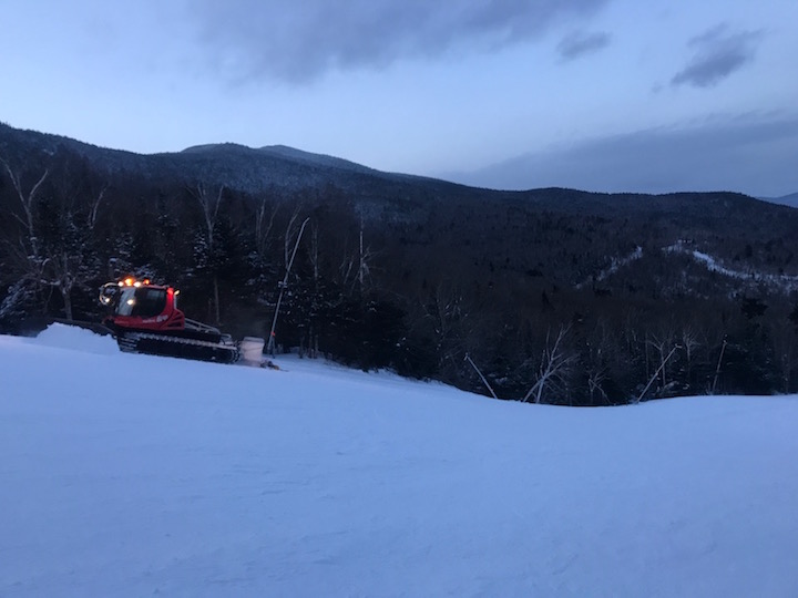 Sugarbush Resort groomer