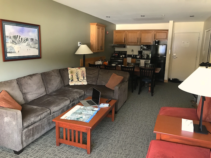 Suite at the Killington Grand