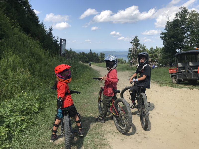 Biking to Coasters: Family Fun at Killington