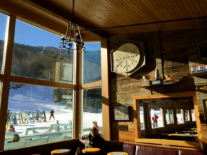 General Stark's Pub with views of Mad River