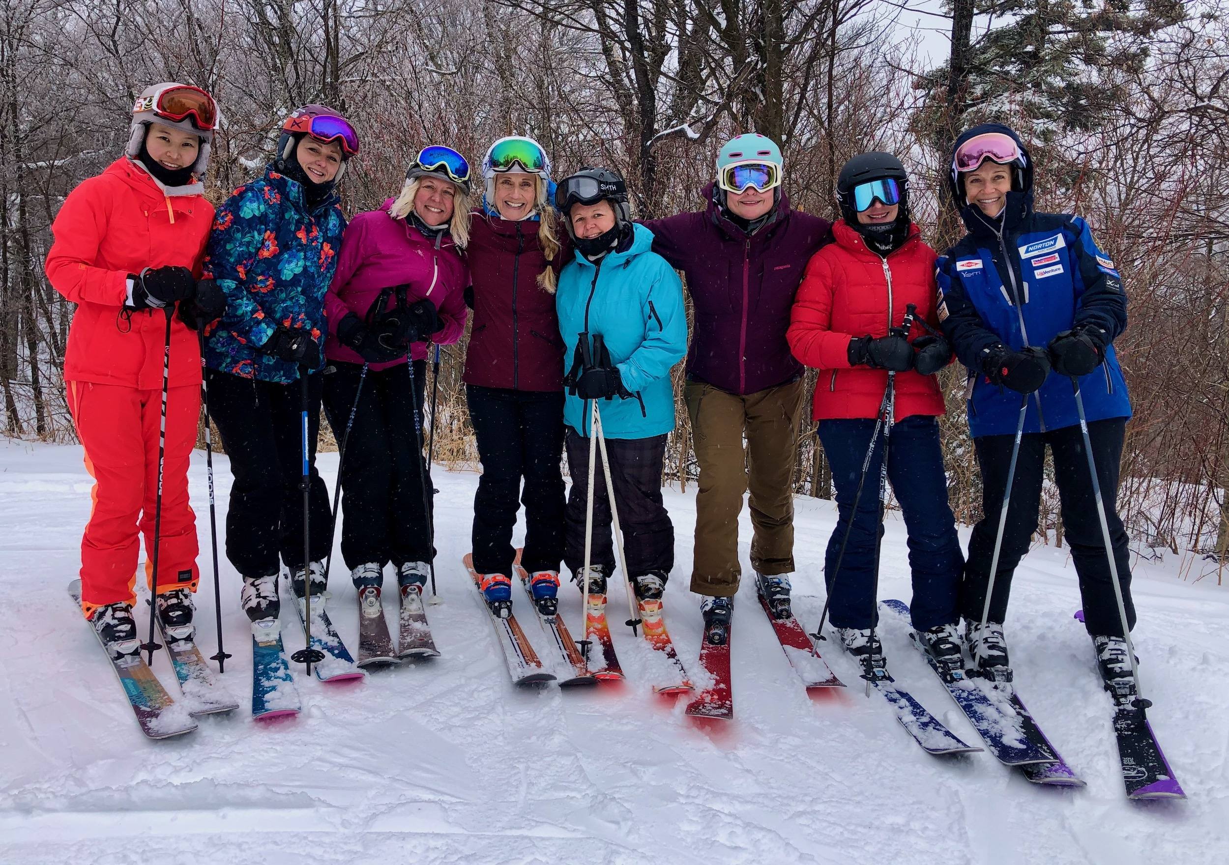 Gold Medal Instruction: Killington Women's Ski Camps with Donna Weinbrecht