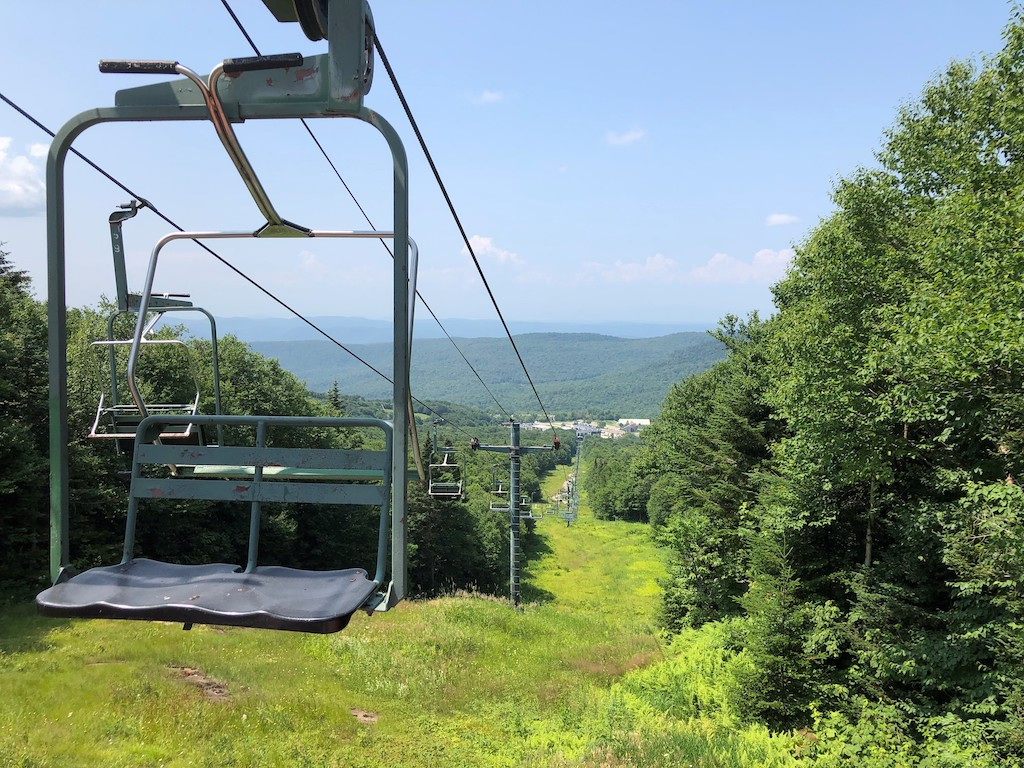 Chair lift Rides Vermont
