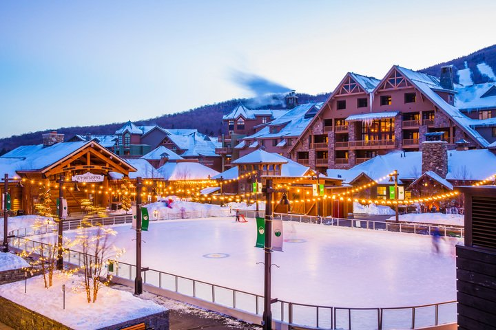 Spruce Peak and Stowe Mountain Lodge