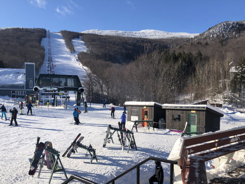 Sugarbush Base Cabins to Stay Warm this Winter