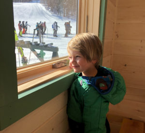Sugarbush Cabin window