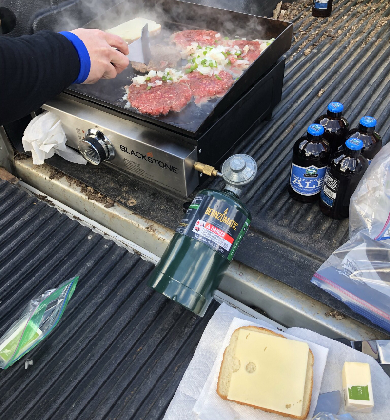Pick up truck grill