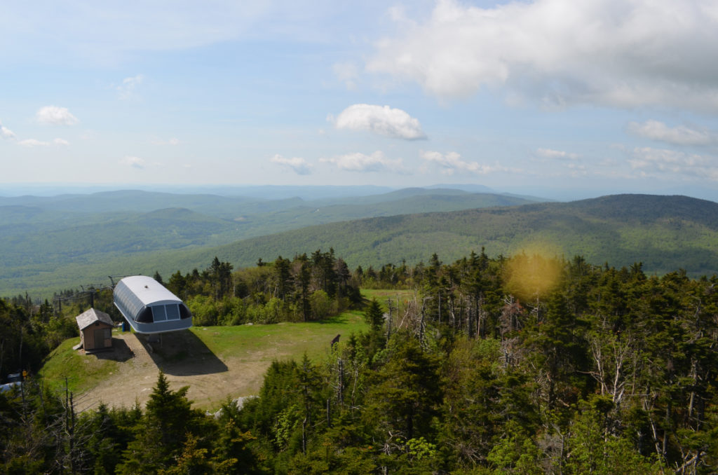 Okemo fire tower view