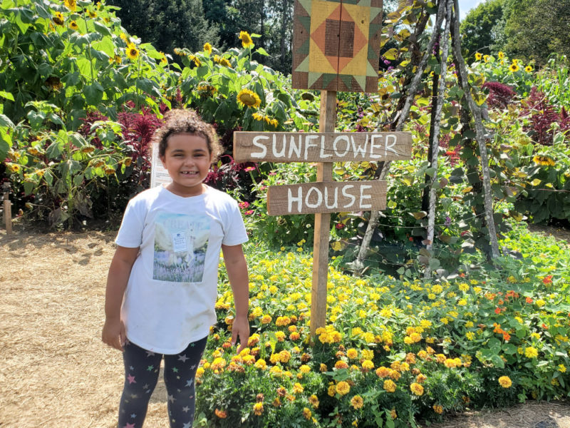 The Sunflower House at Billings Farm & Museum